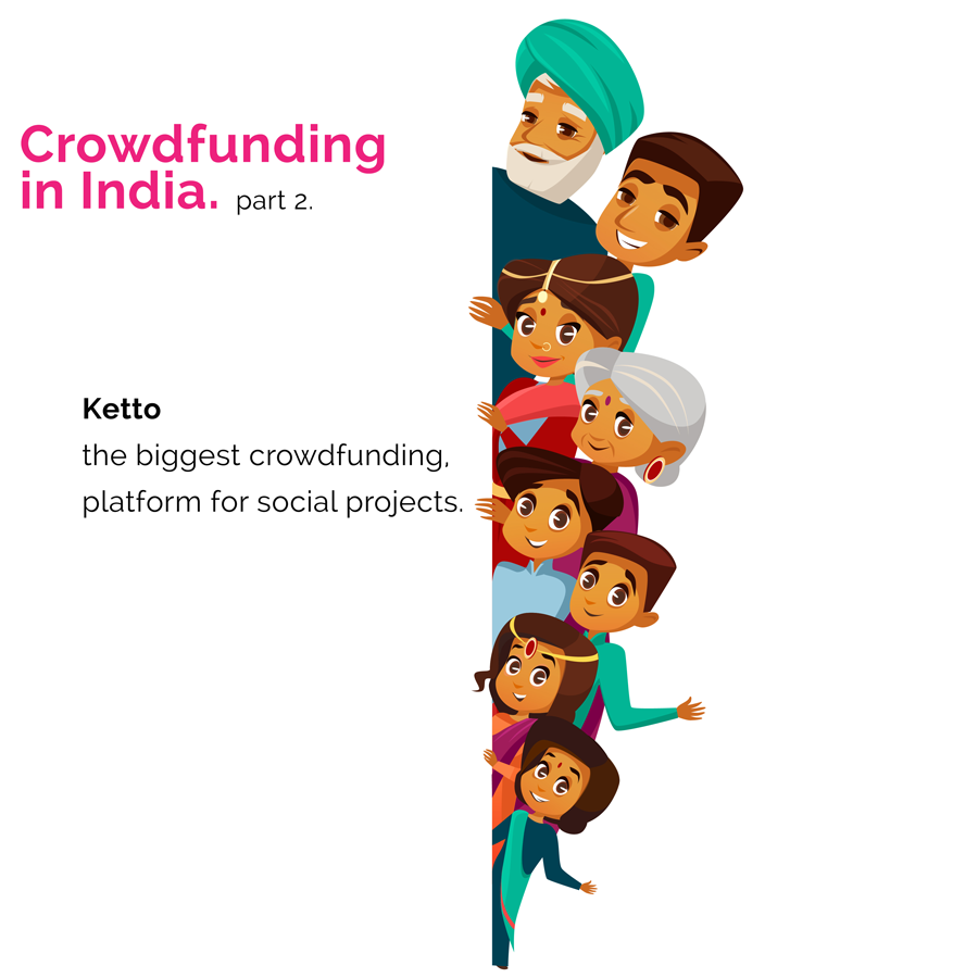 Crowdfunding in India: Ketto the biggest Crowdfunding ...